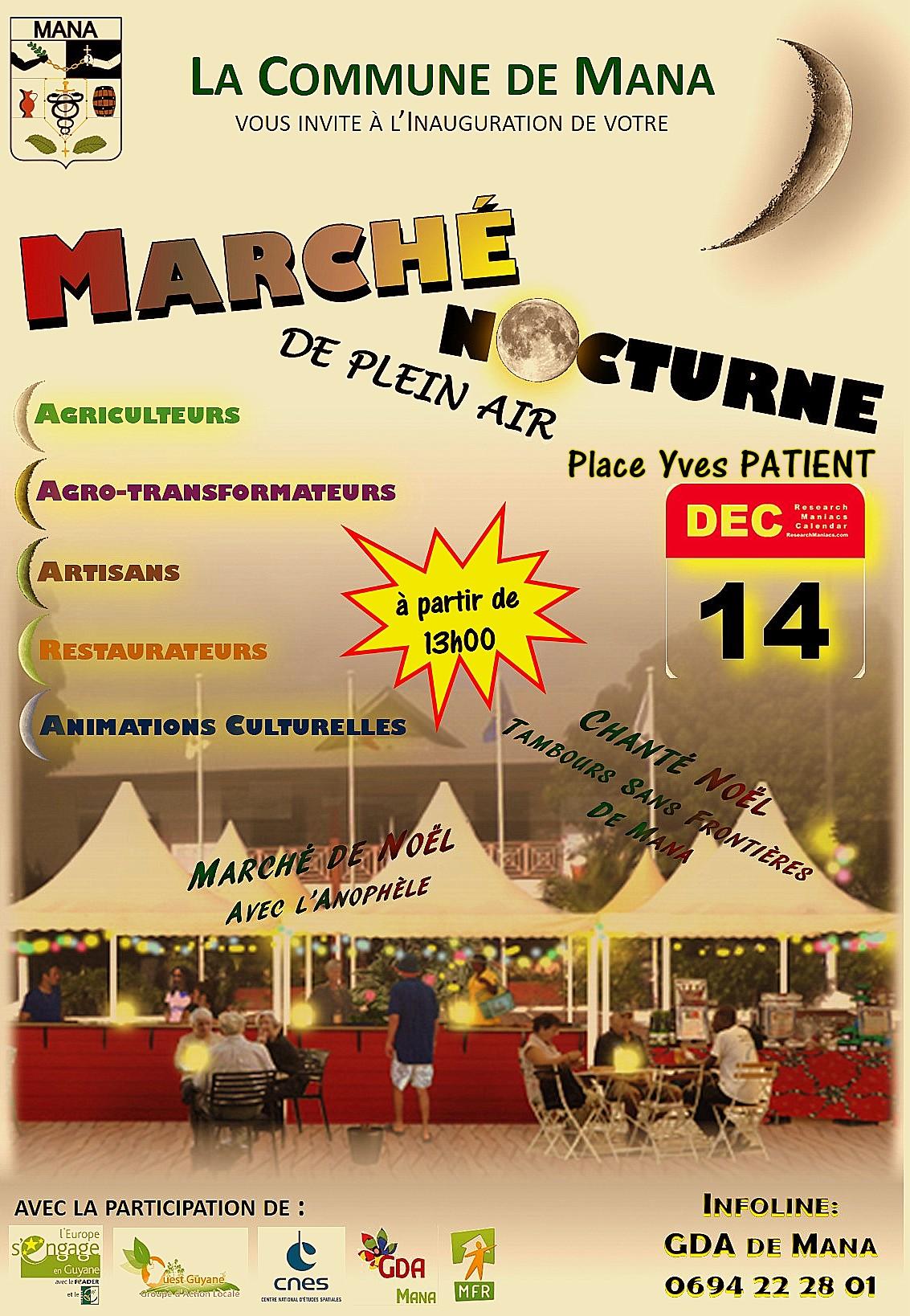Affiche Marché Nocturne-1