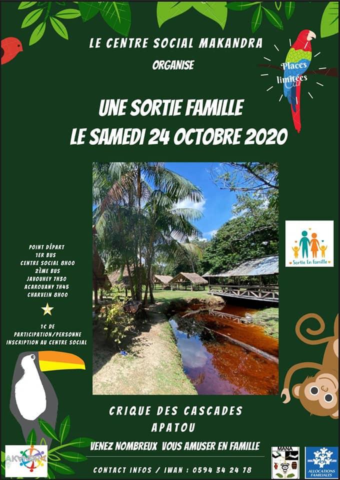 SORTIE EN FAMILLE CRIQUE DES CASCADES