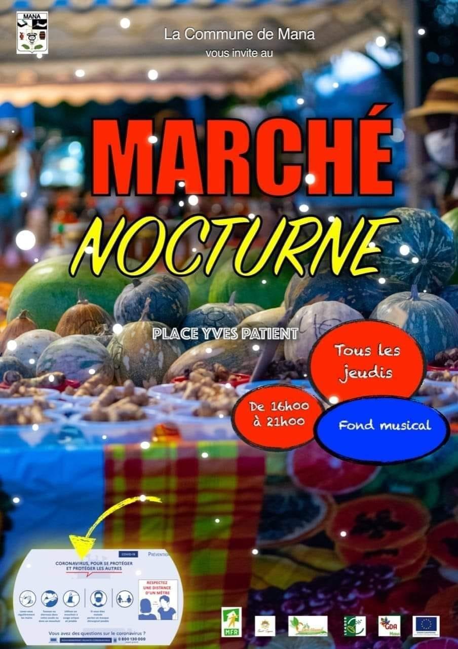 Marché Nocturne Mana