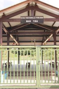 L'école maternelle « MAN TINA »