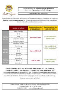 Planning mensuel Mana avril 2017