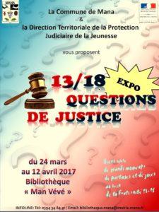 Questions de justice