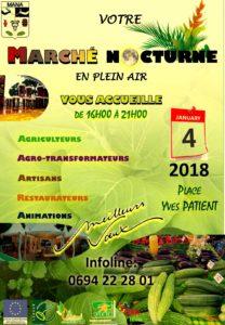 AFFICHE MARCHE DU 04 JANVIER