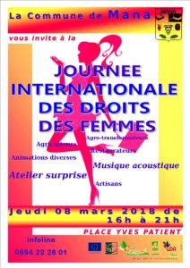 Marché nocturne_Journée internationale des droits des femmes