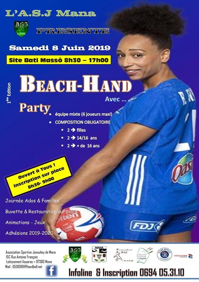 Beach-Hand