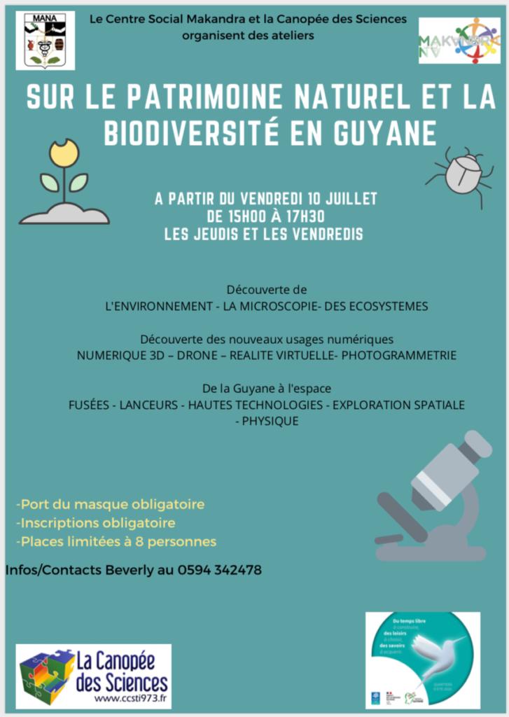 biodiversité en Guyane