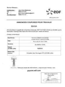 coupure EDF