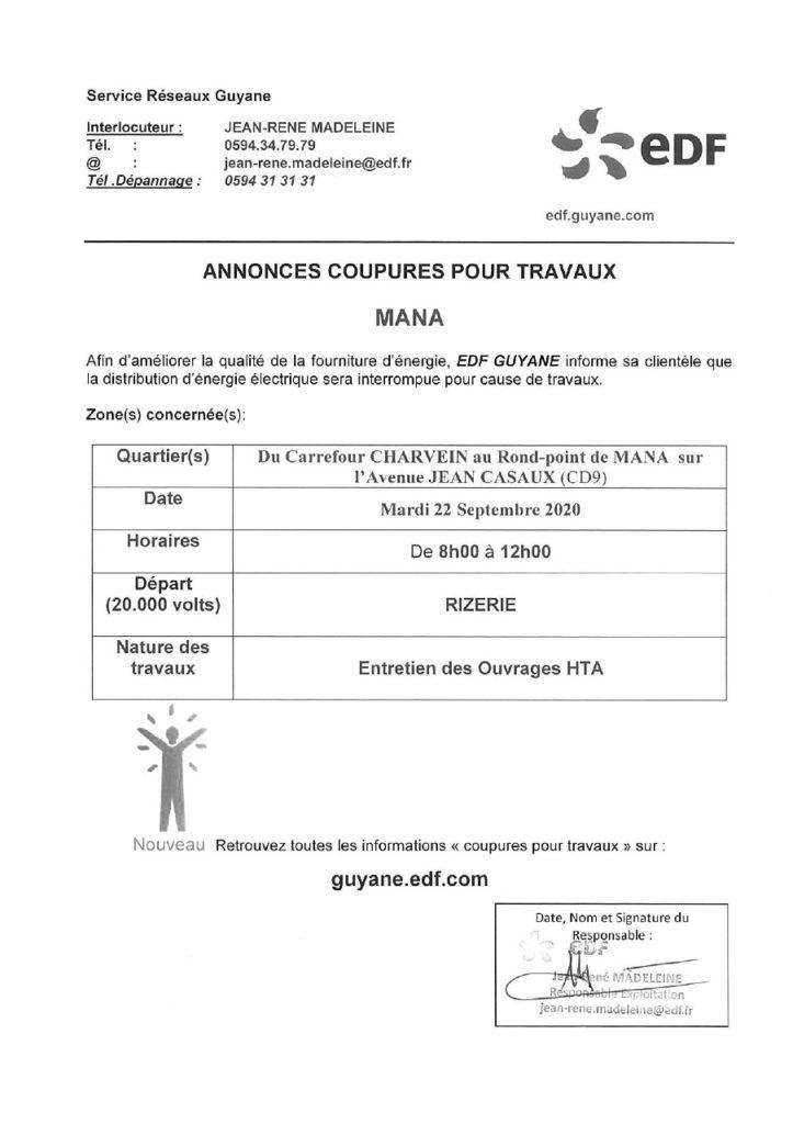 Avis coupures EDF