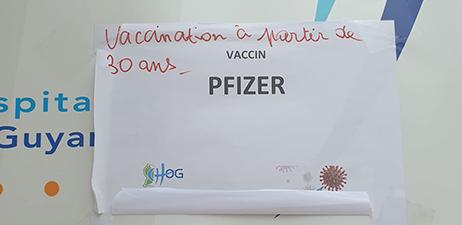 LA CAMPAGNE DE VACCINATION ANTI COVID-19 à Mana 02